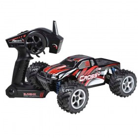 CROSSY 1/18th scale 48km/h RC Electric Monster Truck w/ Shock Absorber System, Water-splash-proof Structure RTR