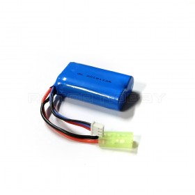 7.4V 850mAh Li-ion Battery Tamiya Mini plug for V785-1 Crossy RC Car