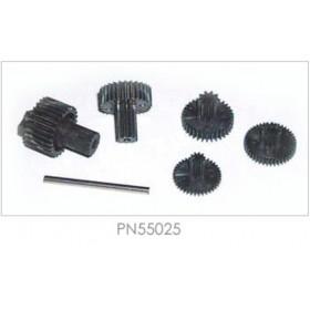 PN55025 Hitec Servo Gear Set (Karbonite), for HS-45HB / HS-5045HB