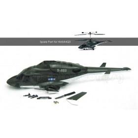 WALKERA Fuselage Set, for HM5-hashtag-4Q3 2.4G Airwolf / HM-5#4Q3-Z-14 / HM5#4Q3Z14