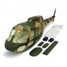 [NETT] Eurocopter Fennec AS550 Fiberglass Fuselage, 600 size, 50 size, Camouflage colour