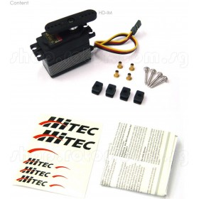 Hitec HSC-5997TG High Torque Coreless Digital Car Servo Motor (Titanium Gear)