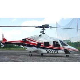 [NETT] Bell 222 Deluxe 60 ARF Painted Fiberglass Bodyshell / Fuselage
