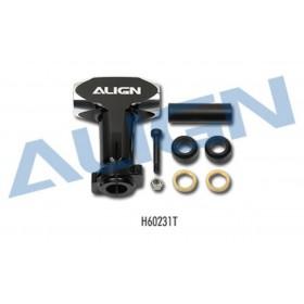 H60231T ALIGN 600EFL PRO Metal Main Rotor Housing, for T-REX 550E / 600EFL PRO / trex550e / trex600efl pro