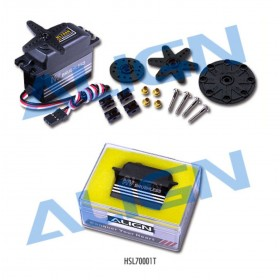 HSL70001T ALIGN BL 700H High Voltage Brushless Servo, for T-REX 550/600/700 cyclic and rudder use