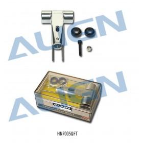 HN7005QFT ALIGN Metal Main Rotor Housing (Silver), for T-REX 700 Nitro Pro / 700E / trex700
