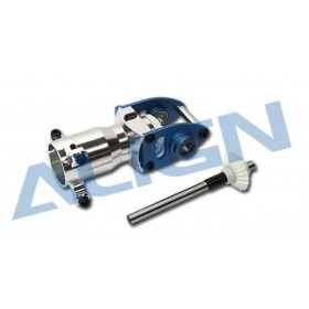 H60133T-84 ALIGN 600 Metal Tail Torque Tube Unit (Blue), for T-REX 600 / 600 Nitro / trex