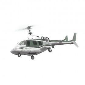 [NETT] Bell 222 Deluxe 30 ARF Painted Fiberglass Bodyshell