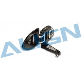 H60250T ALIGN 600ESP Metal Tail Pitch Assembly (Black), for T-REX 600ESP / trex600esp / trex600 esp / trex 600 esp