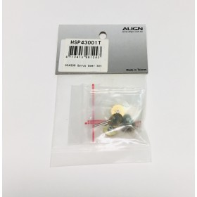 HSP43001T ALIGN DS430M Servo Gear Set, for T-REX 450 series / trex 450 / trex450
