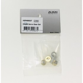 HSP45502T ALIGN DS455 Servo Gear Set, for DS455 servo / trex t-rex