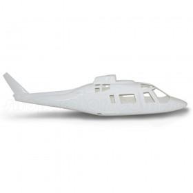 Agusta A-109 Fiberglass Fuselage 50 size, White