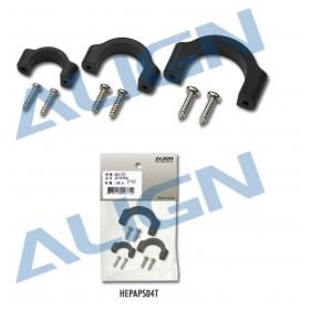HEPAPS04T ALIGN APS Sensor Mounting Platform Tailboom Clamp for APS Gyro / trex t-rex