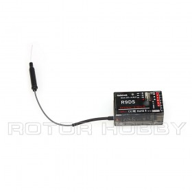 RadioLink R9DS 2.4Ghz 9-Channel DSSS / FHSS S.Bus or PWM Receiver  for AT9, AT9S transmitter | 9 Channel