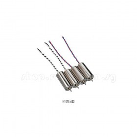 H107C Brush Motor (4pcs) (2CW + 2CCW), Diameter 8.5x20mm