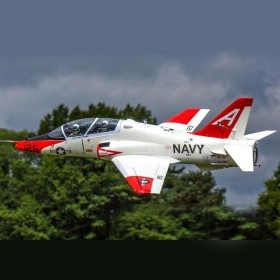 FreeWing T-45 Goshawk DELUXE VERSION 90mm EDF 6S Electric Ducted Fan Fighter Jet Airplane, Wingspan mm, Plug-and-Play FJ30712P