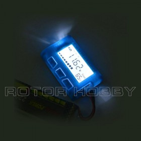With LED Backlight Version, CellMeter 8 Multifunctional Digital Power Servo Tester and Battery Capacity Checker