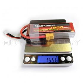 LPB 11.1V 1800mAh LiPo Battery, 45C, XT60