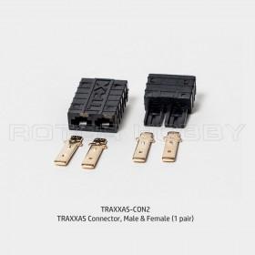 TRAXXAS Connector, Male & Female (1 pair)