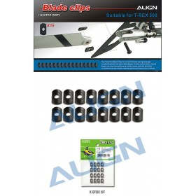 ALIGN 500 Tail Blade Clips for T-REX 500