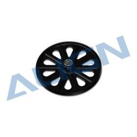 H50019AAT ALIGN 145T M0.6 Autorotation Tail Drive Gear set, Black, for T-REX 500 series / Trex500 trex 500