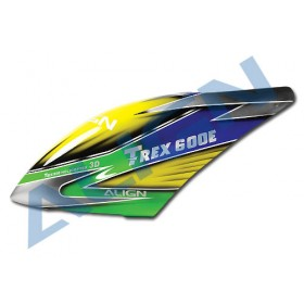 HC6532T ALIGN 600E Painted Canopy for T-REX 600E