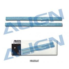 HN6006AT ALIGN Clutch Liner 0.8x9x136mm Blue for T-REX 600 Nitro