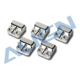 HN6019T ALIGN Frame Mounting Block (5 pcs) (14x12.5x8mm) for T-REX 600 Nitro