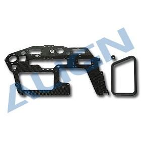 HN6055T-1 ALIGN Carbon Main Frame (R) 2.0mm for T-REX 600 Nitro/Nitro Upgrade