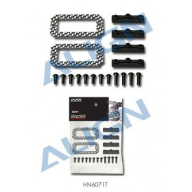 HN6071T ALIGN Fiberglass 18G Servo Adapter Plate for T-REX 600 Nitro Upgrade