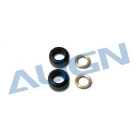 HN6098T ALIGN Damper Rubber 90° for T-REX 500E/600/600 Nitro