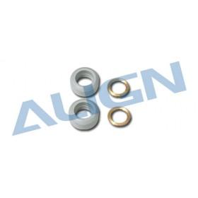 HN6100T ALIGN Damper Rubber/Gray 70° for T-REX 600/600 Nitro