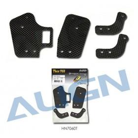 HN7060T ALIGN Carbon Fiber Frame Brace Set for T-REX 700 Nitro Pro
