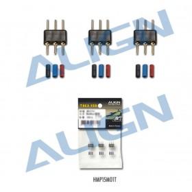 HMP15M01T ALIGN 150 Motor Plug & Pin Set, for T-Rex 150 / trex150 / trex 150