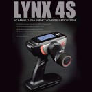 LYNX 4S 2.4GHz 4-Channel Pistol Grip Surface Computer Radio System