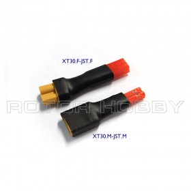 XT30 connector to JST Connector Adapter