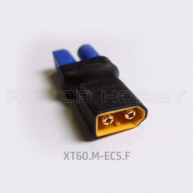 XT60 Male to EC5 Female Connector without wire
