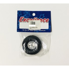 """EX1354 EXCELLENCE 2"""" Rubber Wheel with Aluminium Hub D51xDia.3.0xH18.5mm for Airplane"""