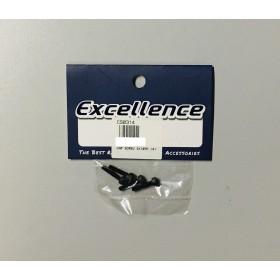 CS0314 Hex Socket Head Cap Screw 3x14mm (4pcs), M3x14
