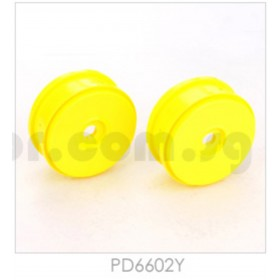 THUNDER TIGER 1/8 Velocity Wheel (2pcs), for [6231F] EB-4 S3 buggy, [6400] EB-4 G3 / PD6602Y PD6602W