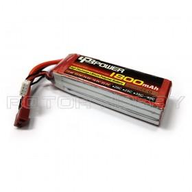 11.1V 1800mAh 45C LiPo Battery, T plug
