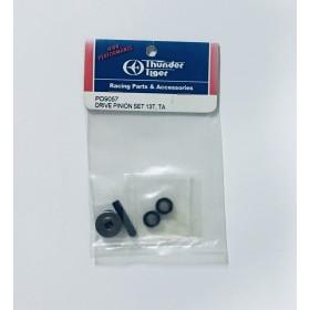 PD9057 THUNDER TIGER Drive Pinion Set 13T, for Tomahawk VX, Sparrowhawk VX / DX Drift / DX II