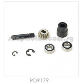 PD9179 THUNDER TIGER Drive Pinion Set 13T, TAEB, for [6536-F] Sparrowhawk XB, [6542F] Sparrowhawk XXB