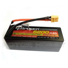 Hard Casing 14.8V 5200mAh 60C LiPo Battery, XT60