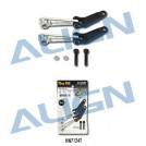 HN7124T Align 700FL Control Arm Set, Silver for T-REX 700N / 700E