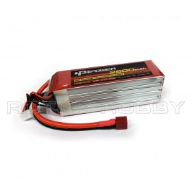 14.8V 2600mAh 60C LiPo Battery, T plug