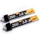 3.8V 260mAh 30C LiPo Battery, JST PH2.0