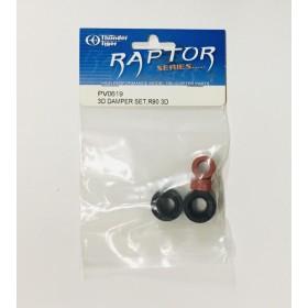 PV0619 THUNDER TIGER 3D Damper Set, for Raptor R90 3D / G4 / [Raptor-G4-Series] / [4761] Raptor E700 / [4793] Raptor E820