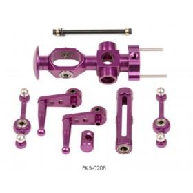 EK5-0208 / 001495 ESKY Metal Rotor Head Set, for Belt-CP / Honey Bee KING 2