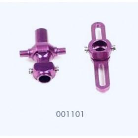 EK5-0207 / 001101 ESKY Metal Center Holder Set (Lower / Bottom), for Lama V3 / Lama V4 / Robins / Co-comanche / Dauphin